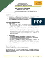 Guia Proyecto REMM - Primera Entrega 2020-1
