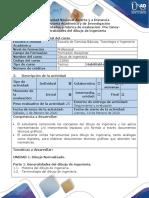 Guia de actividades y rubrica de evaluacion - Pre-tarea - Generalidades del dibujo de ingenieria.pdf