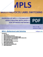 MPLS - MultiProtocol Label Switching