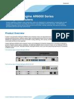Huawei NetEngine AR6000 Series Enterprise Routers Datasheet