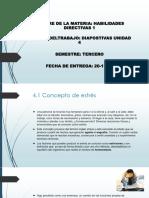Unidad 4 de Habilidades Directivas 1