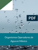 Organismos Operadores de Agua en México
