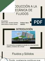 mecanica de fluidos - Introduccion a la fluidostatica