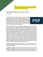 Artigo - ALTHABE, Gerárd - Ethnologie du contemporain et enquête de terrain - Maio 2017