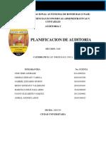 PLANICACION AUDITORIA I