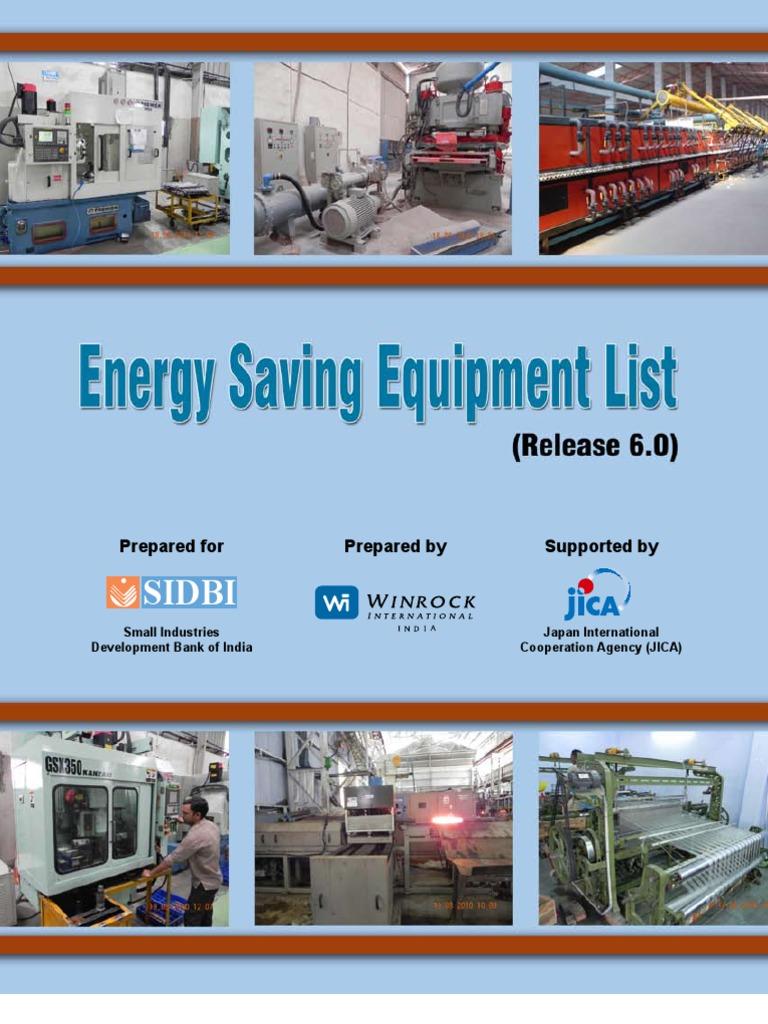Energy Saving Equipment List (Release - 6 0) - Final | Furnace | Air ...