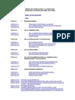 REGLAMENTO DE APRECIACION Y CALIFICACION pnp
