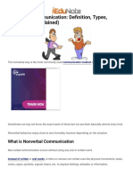 Nonverbal Communication_ Definition, Types, Importance (Explained)