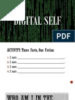 DIGITAL SELF (Understanding the Self)