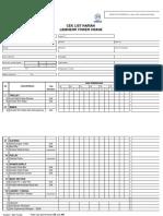 Checklist-Liebherr TC Harian