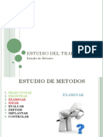 ETAPAS ESTUDIO DE METODOS