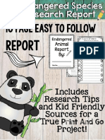 EndangeredAnimalResearchReportProjectTemplatePlusKidFriendlyWebsites.pdf