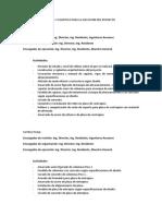 ENFOQUE METODOLOGÍA Y LOGISTICA PARA LA EJECUCION DEL PROYECTO - IRDET