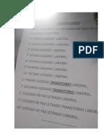 Comunicado Archivo Modular Juzgado Especializado