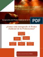 Integración del Poder Judicial