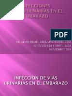INFECCIONES GENITOURINARIAS EN EL EMBARAZO