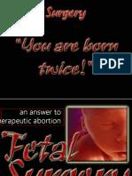 9. Fetal Surgery
