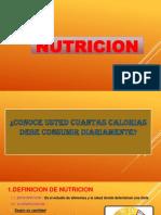 NUTRICION AREGLADA