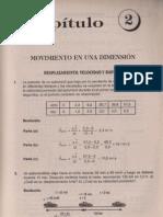 Física Resueltos(Soluciones)Movimientos en una Dimensión Selectividad
