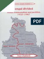 Joya Chatterji - Bengal divided_ Hindu communalism and partition, 1932-1947-Cambridge University Press (2002).pdf