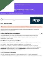 Les processus - La programmation système en C sous Unix - OpenClassrooms.pdf