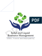 Credit Financing in the Sanitation and Water Sector