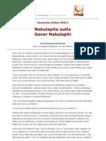 SN 22-001 Nakulapita sutta - Govor Nakulapiti