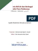 Jenis-jenis Bid'ah & Bebagai Kondisi Para Pelakunya.pdf