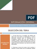 CLASES SEMINARIO TEG INTRODUCTORIA