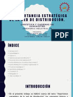 LOGISTICA. 6.1 IMPORTANCIA RD