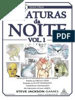 GURPS 4E - Criaturas Da Noite Vol 1