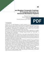 Polymer-Bioglass Composite Coatings
