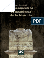 Moro Abadia, Oscar. - La Perspectiva Genealogica de La Historia [2006]