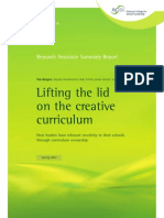 Media 762 d0 Lifting the Lid on the Creative Curriculum Summary
