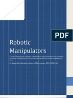 An Introduction to Robotic Manipulators