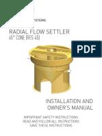 Radial-flow-settler-45-manual