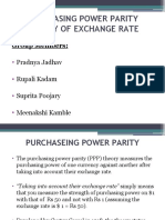 Purchasing Power Parity Ppt