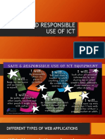 SAFE AND RESPONSIBLE USE OF ICT