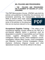 LESSON MANUSCRIPT Personnel Police and Procedure(2)