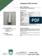 LPDA-A0123 Version 1.0