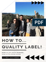 Infopack how to...Quality label
