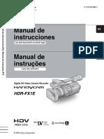 Manual Camara Sony