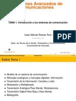 Temas Sistemas Avanzados de Comunicaciones