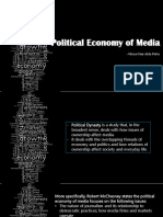 Economy of media