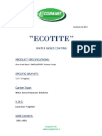 ECOTITE DATA SHEET JULY 2013[1]