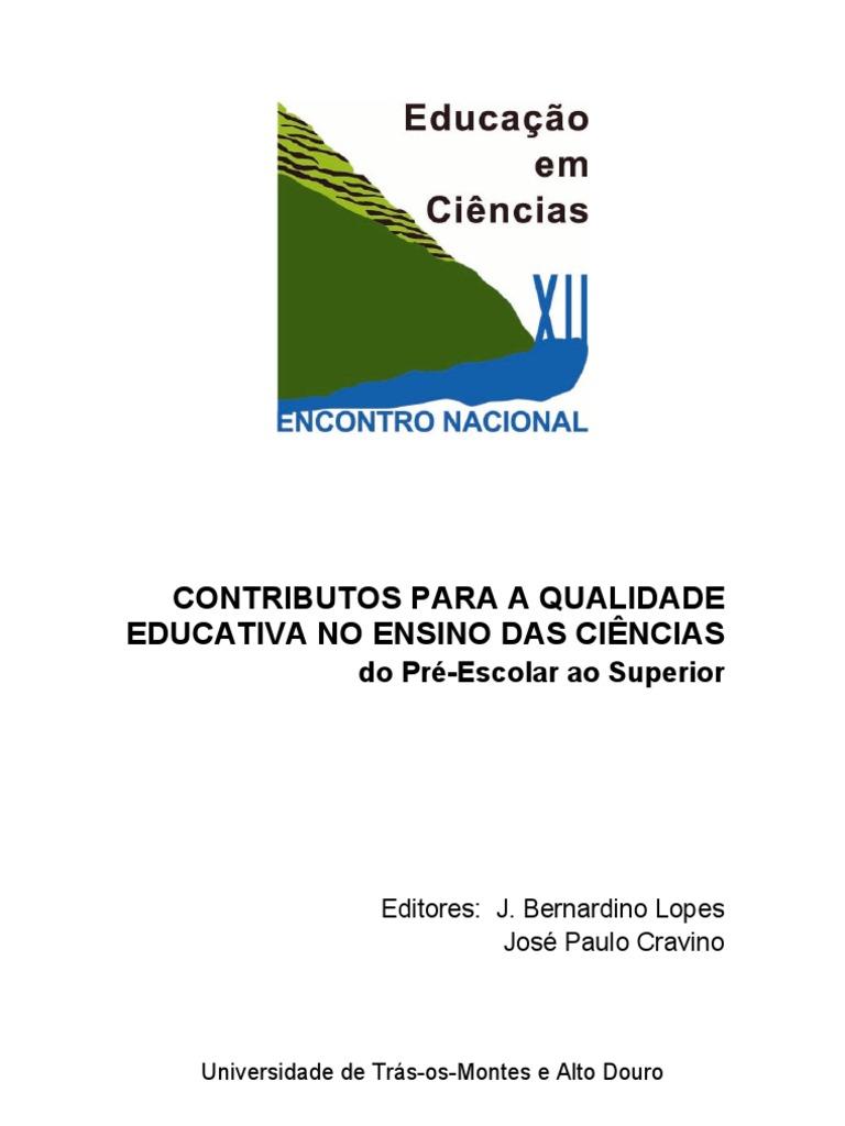087d2b5b88d85 Actas-ENEC-2007-Contributos para a Qualidade Educativa no Ensino das  Ciências do Pré-Escolar ao Superior