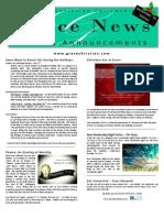 Grace News - December '10
