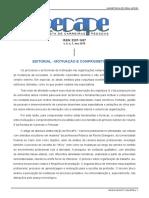 Editorial - Motivação e Cmprometimento