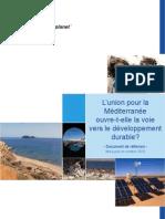 UPM Et Developpement Durable(WWF 2010 Oct)FR