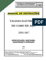 Manual Instruções - SE - 2008 - Rev  5